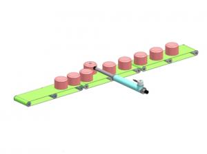 linear motor control- material sorting