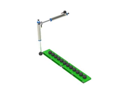 linear motor control-material sorting