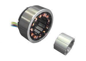 brushless DC servo motor 20~60VDC, 50mm~100mm